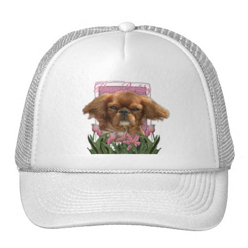 Happy Birthday - King Charles Cavalier - Ruby Trucker Hat