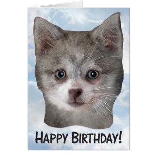 Happy Birthday Kippy Front - Greeting Card