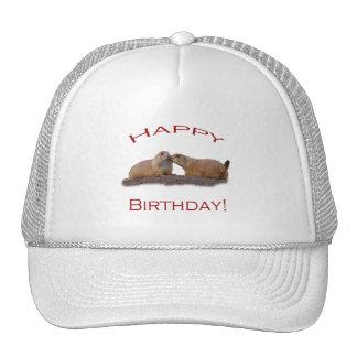 Happy Birthday Kiss Trucker Hat