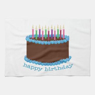 Happy Birthday Hand Towel