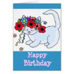Happy Birthday Kitten Cards