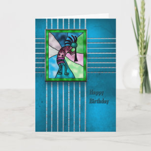 American indian birthday cards zazzle happy birthday kokopelli american indian series card m4hsunfo