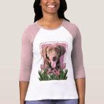 Happy Birthday - Labrador - Chocolate T Shirts