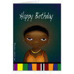 Happy Birthday Lady Greeting Cards