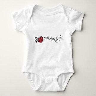 Happy Birthday Ladybug T Shirt