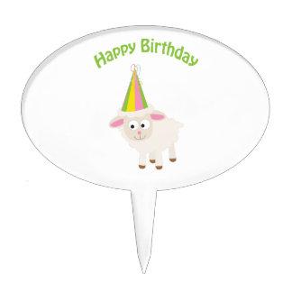 Happy birthday Lamb Cake Pick