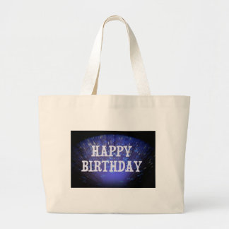 HAPPY BIRTHDAY LARGE TOTE BAG