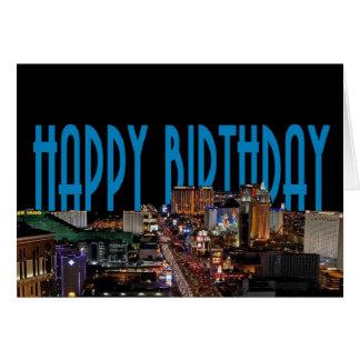 HAPPY BIRTHDAY LAS VEGAS CARD ADD NAME!