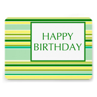 happy birthday (lemonLime) Card