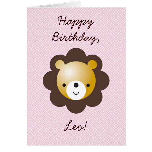 Happy Birthday, Leo! Greeting Card