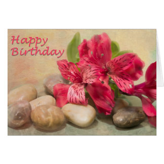 Happy Birthday Lilies Of The Nile's Card
