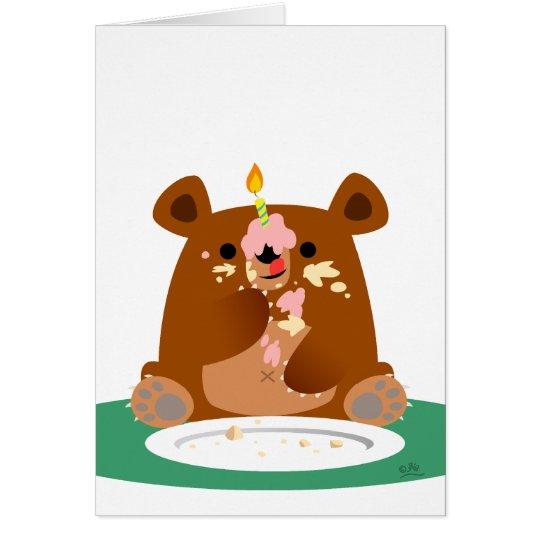 Happy Birthday little bear! Card