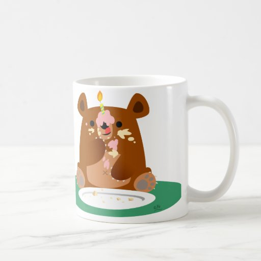 Happy Birthday, little bear!! Coffee Mugs