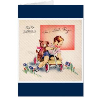Happy Birthday - Little Boy Card