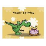 Happy Birthday - Little Dragon Postales