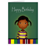 Happy Birthday little girl Cards