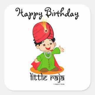 Happy Birthday Little Raja Stickers