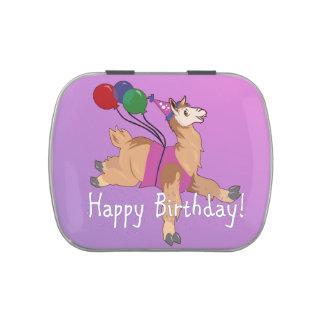 Happy Birthday Llama! Candy Tins