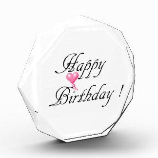 Happy Birthday Love Award