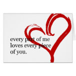 Happy Birthday Love Quote Greeting Card 2 at Zazzle