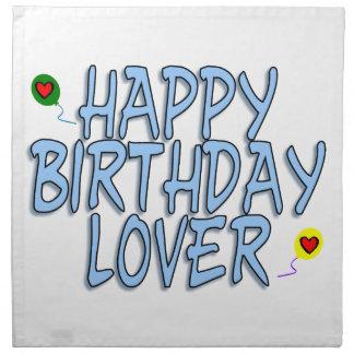 Happy Birthday Lover Cloth Napkin