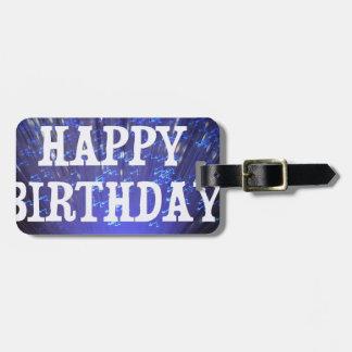HAPPY BIRTHDAY BAG TAGS