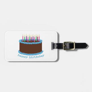 Happy Birthday Bag Tag