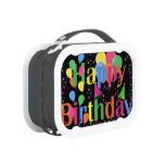 Happy birthday lunch boxes