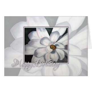 Happy Birthday Magnolia Card