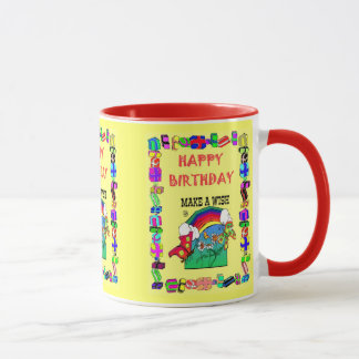 Happy Birthday, Make a wish! Mug