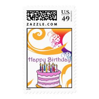 Happy Birthday Matching Stamp
