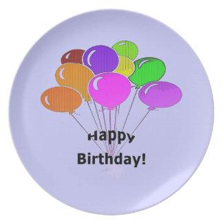Happy Birthday - Melamine Plate