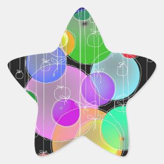 Happy Birthday & Merry Christmas... Star Sticker