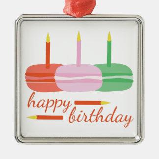 Happy Birthday Metal Ornament