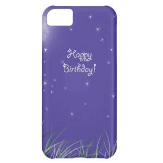 Happy birthday Midnight Moon Fantasy iPhone 5C Covers