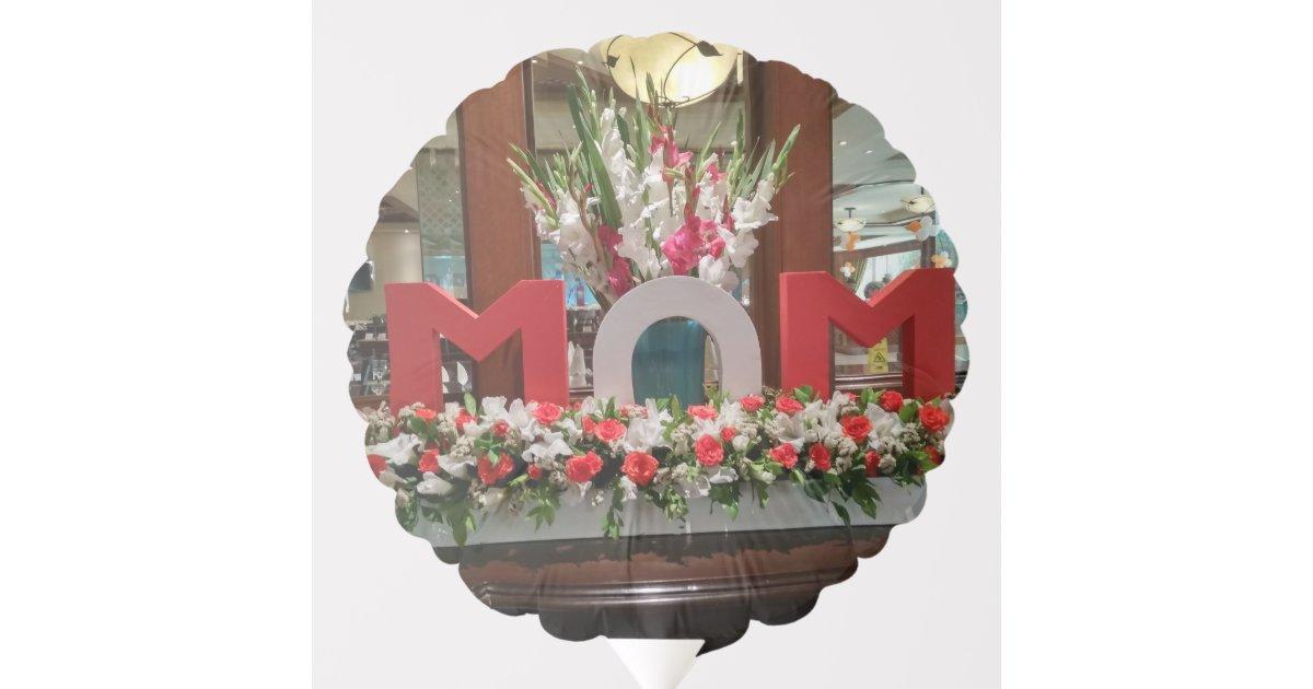 happy birthday mom balloon zazzle com