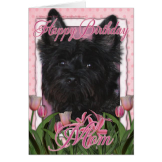 Happy Birthday Mom - Cairn - Black - Rosco Card