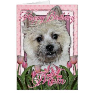 Happy Birthday Mom - Cairn - Light - Teddy Bear Card