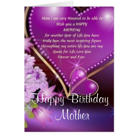 Happy Birthday Mom Card – Happy Birthday Mom Card