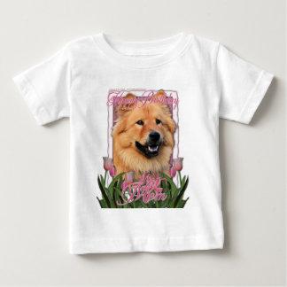 Happy Birthday Mom - Chow Chow - Cinny Baby T-Shirt