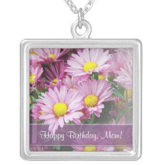 Happy Birthday, Mom! - Custom Pendant Necklace