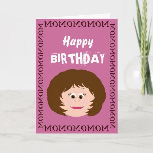 Happy Birthday Mom Daughter Card Zazzle