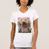 Happy Birthday Mom - Goldendoodle T-Shirt