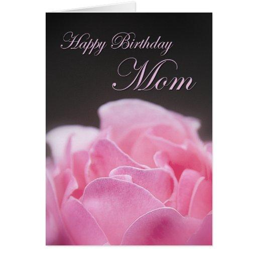 Happy Birthday Mom Greeting Card