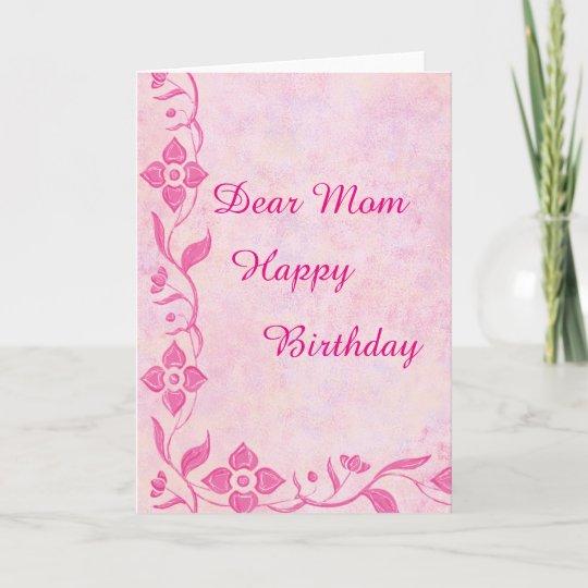 Happy Birthday Mom Greeting Cards Zazzle