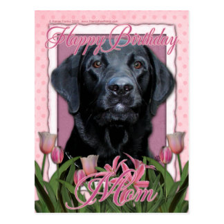 Happy Birthday Mom - Labrador - Black - Gage Postcard