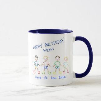 Happy Birthday Mom Mug