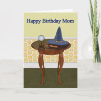 Happy Birthday Mom Pagan Greeting Card