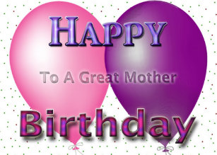 happy birthday balloons for mom gifts on zazzle