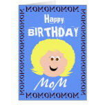Happy Birthday Mom (Son) Greeting Cards